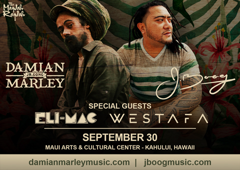 Damian Marley and JBoog