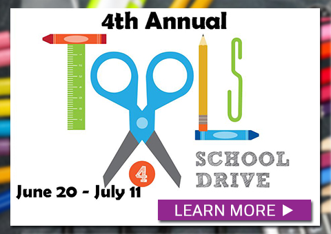 4th Annual Tools For School Drive